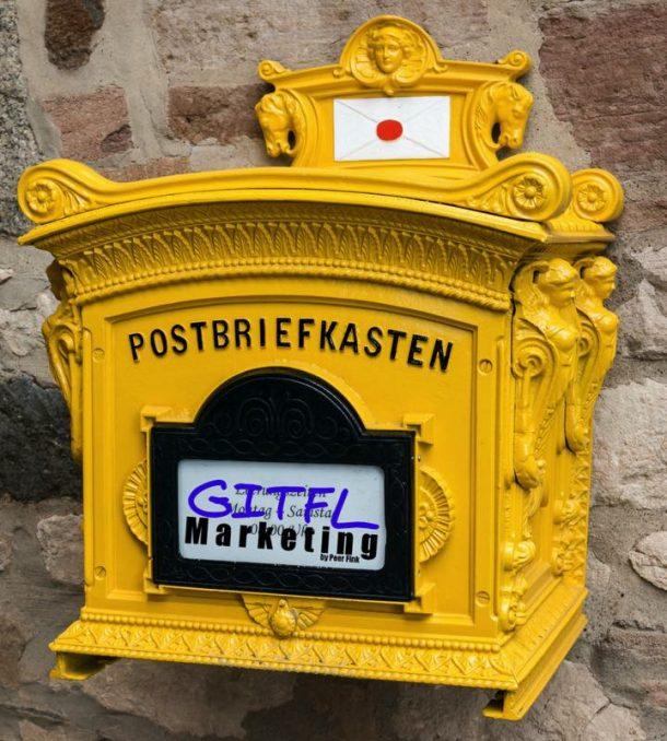 Postbriefkasten GITFL